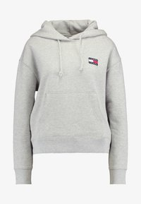 Tommy Jeans - BADGE HOODIE - Sweat à capuche - grey - 3