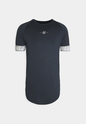 SCOPE TAPE TECH TEE - Triko s potiskem - navy