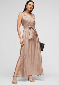 s.Oliver BLACK LABEL - Maxi dress - beige - 1