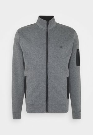 TECHNO FULL ZIP JACKET - Vest - dark grey heather