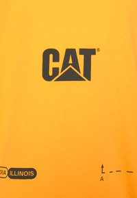 Caterpillar - CAT MACHINERY TEE - Print T-shirt - cat yellow - 2