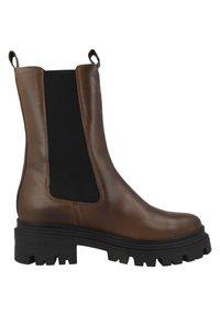 Tamaris - Platform boots - cognac leather - 4