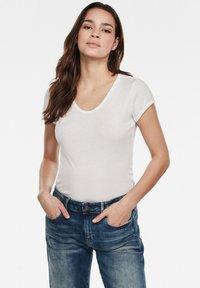 G-Star - Basic T-shirt - white - 0