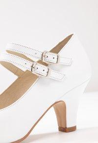 LAB - Classic heels - tibet blanco - 2