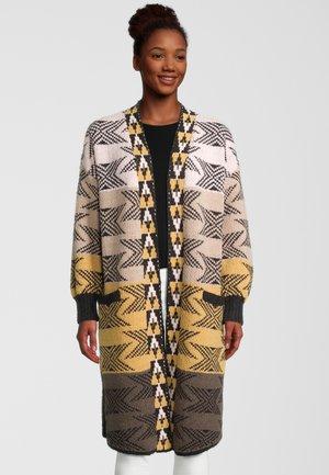 Classic coat - bright gold