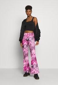 BDG Urban Outfitters - IMOGEN TANK - Top - black - 1