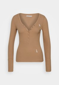 Abercrombie & Fitch - Long sleeved top - tan - 0