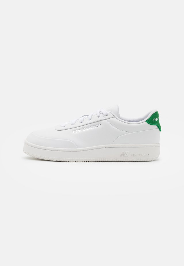 COURT UNISEX - Sneakers laag - white/green