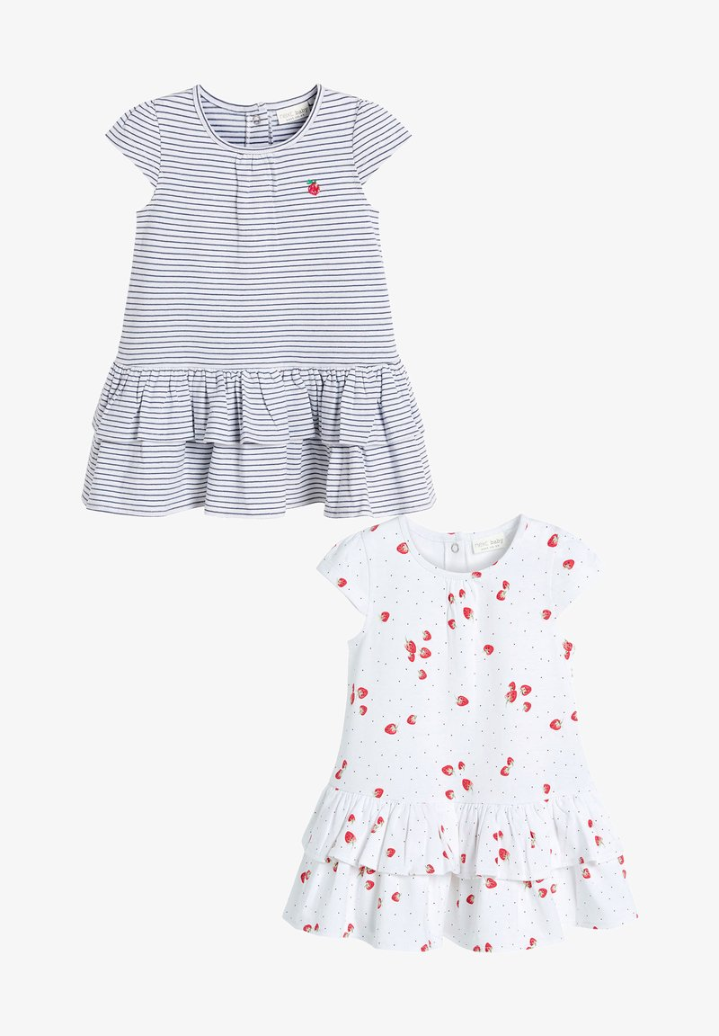 Next - 2 PACK - Day dress - off-white