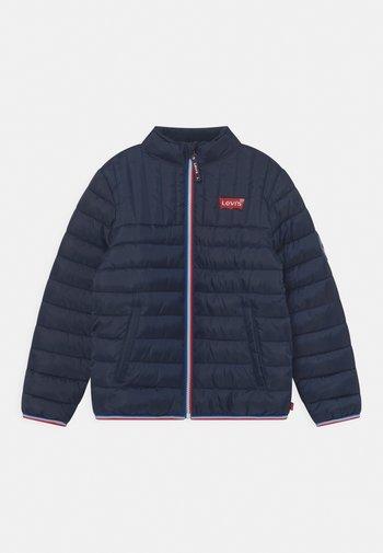 SOLID PUFFER - Winter jacket - dress blues