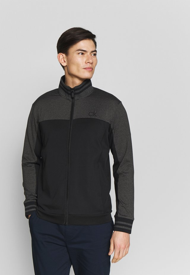 RETRO PERFORMANCE FULL ZIP - Veste de survêtement - black/grey