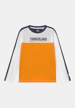 LONG SLEEVE - Pitkähihainen paita - orange