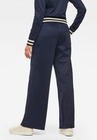 G-Star - LUCAY WIDE  - Trousers - sartho blue - 1