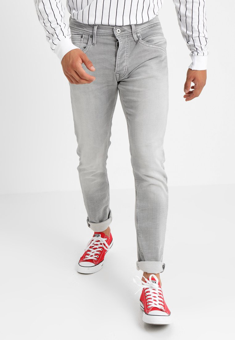 Pepe Jeans - TRACK - Jeansy Straight Leg - 000denim