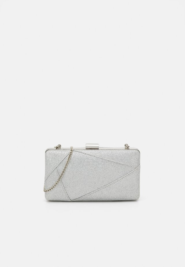 ELLA PANELLED SMALL - Clutch - silver-coloured