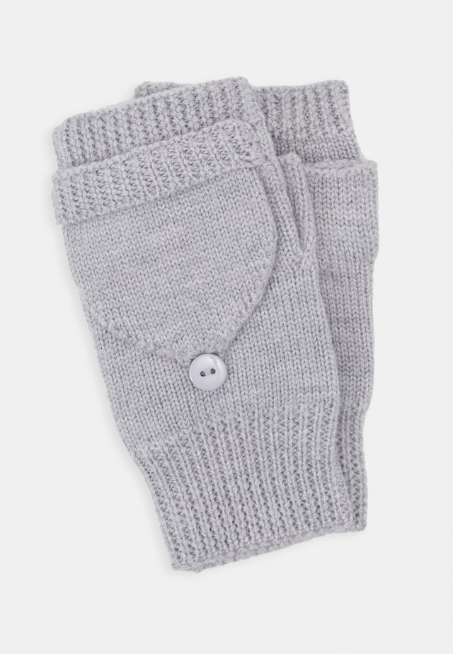 WOOL - Fingerless gloves - grey