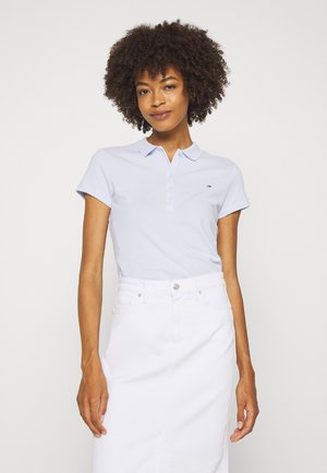 SHORT SLEEVE SLIM - Poloshirts - bliss blue