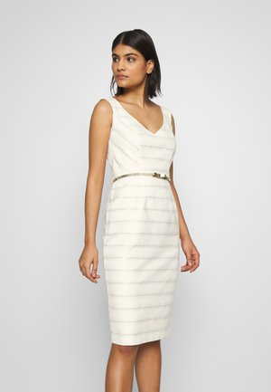 Cocktail dress / Party dress - ivory/gold