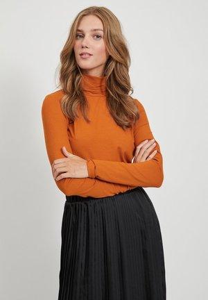 OBERTEIL RIPPDESIGN - Long sleeved top - pumpkin spice