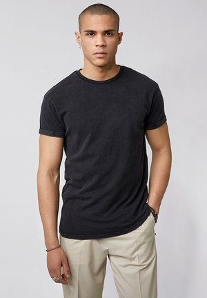 ZANDER VINTAGE - Basic T-shirt - vintage black