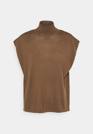 AZA MUSCLE - T-shirt - bas - taupe