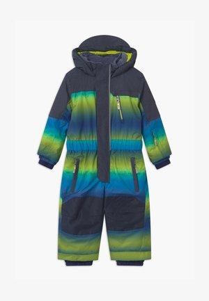 VIEWY UNISEX - Snowsuit - neon blue