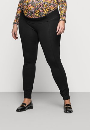 MLREYNA PINTUC - Leggings - Trousers - black