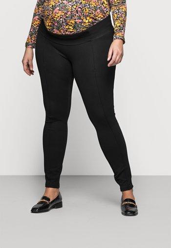 MLREYNA PINTUC - Leggings - Trousers - black