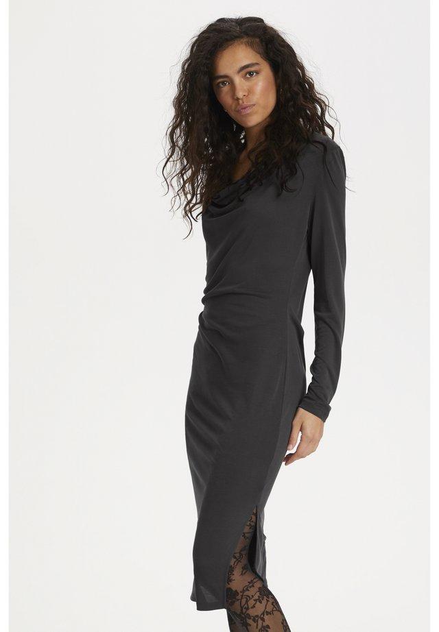 SLCODY WATERFALL  - Sukienka z dżerseju - black