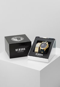 Versus Versace - LION - Zegarek chronograficzny - gold-coloured/blue - 0