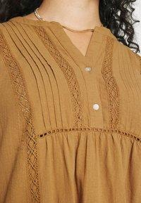Zizzi - MAUSTIN KNEE DRESS - Day dress - chipmunk - 4