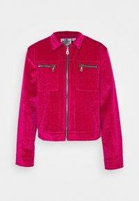TRICK JACKET - Summer jacket - pink