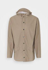 JACKET UNISEX - Waterproof jacket - taupe