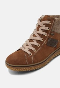 Rieker - Lace-up ankle boots - reh/wood/kastanie - 7