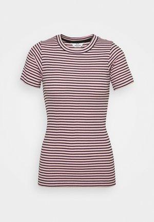 STRIPE TRUNA - T-shirt imprimé - pink