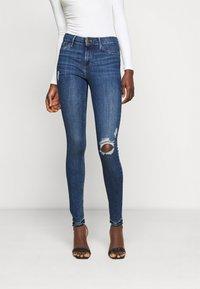 River Island Tall - Jeans Skinny Fit - blue denim - 0