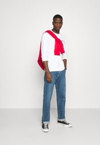 Tommy Jeans - LONGSLEEVE CORP - Maglietta a manica lunga - white - 1