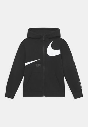 FULL-ZIP - Sweater met rits - black