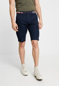 Tommy Hilfiger - JOHN BELT - Shorts - blue - 0