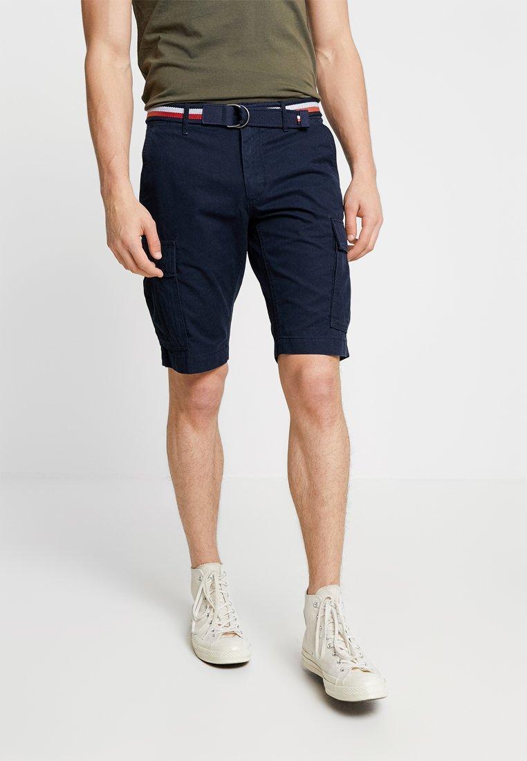 Tommy Hilfiger - JOHN BELT - Shorts - blue
