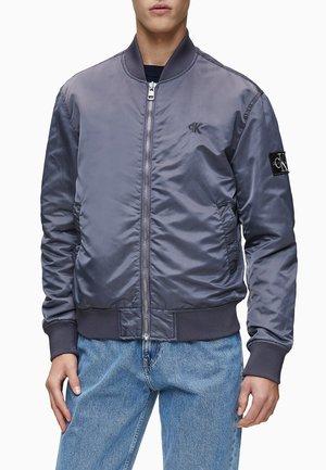 Bomber Jacket - abstract grey