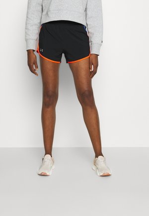 FLY BY 2.0 SHORT - Sports shorts - black/phoenix fire