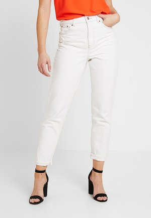 Relaxed fit jeans - off-white