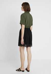 Vero Moda - VMAISHA SHORT SKIRT - A-line skirt - black - 2