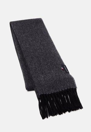 UPTOWN HERRINGBONE SCARF UNISEX - Scarf - black/grey