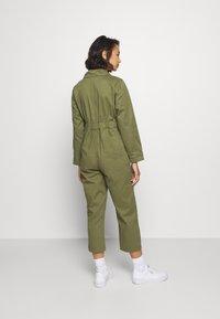 Topshop Petite - MABEL BOILER - Jumpsuit - khaki - 2