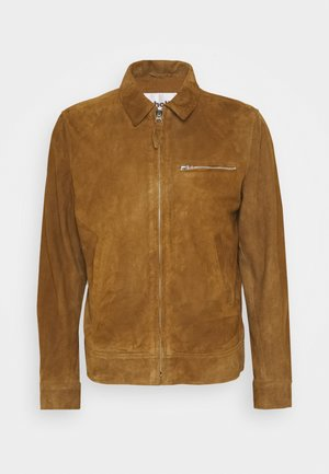 Leather jacket - rust