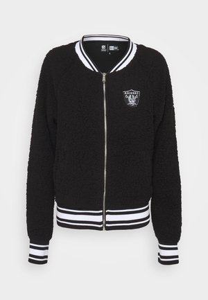 NFL OAKLAND RAIDERS TRACK JACKET - Club wear - black