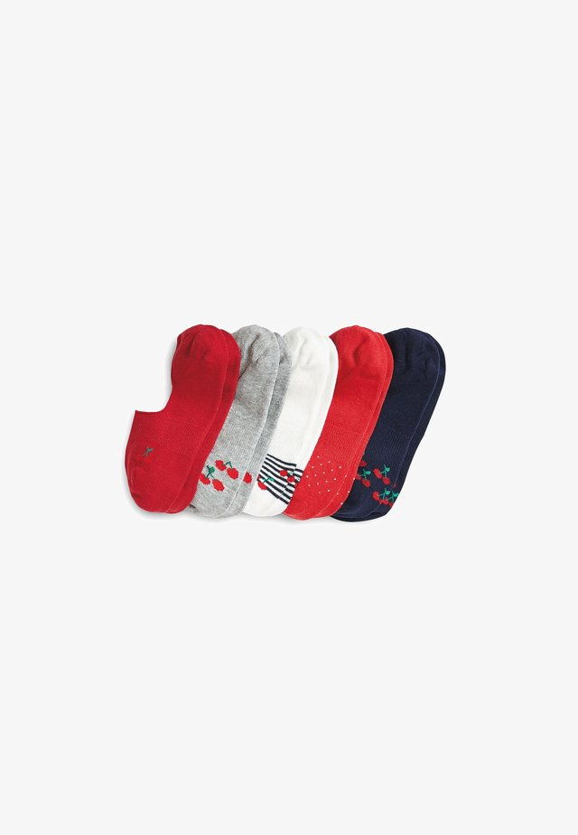 INVISIBLE 5 PACK - Trainer socks - multi-coloured