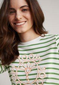 JOOP! - Jersey dress - grün weiß gestreift - 4